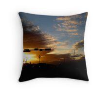 Lubbock Sunset Throw Pillow