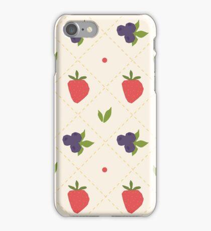 berry pattern iPhone Case/Skin