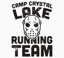 Camp Crystal Lake Running Team by J B