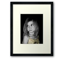Oh ... So Sad Framed Print