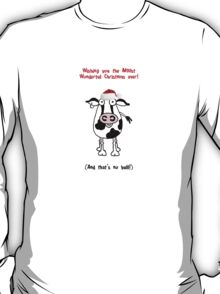 Christmas Bull! T-Shirt