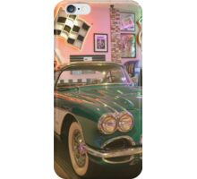 Let's Go To The Corvette Diner ~ San Diego, California iPhone Case/Skin