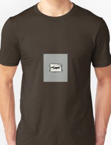 Distorted vision shades of grey Unisex T-Shirt