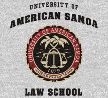 BCS - University of American Samoa Law School T-Shirt