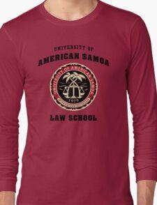 BCS - University of American Samoa Law School Long Sleeve T-Shirt