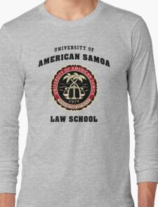 BCS - University of American Samoa Law School Long Sleeve T-Shirt