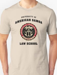 BCS - University of American Samoa Law School Unisex T-Shirt