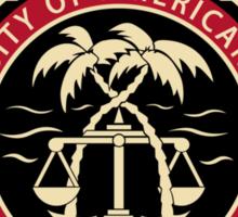 BCS - University of American Samoa Law School Sticker