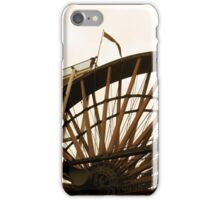 Laxey Wheel, edited iPhone Case/Skin
