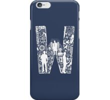 W Is For Winchester iPhone Case/Skin