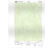 Maine USGS Historical Map Reed Pond 20110902 TM Poster