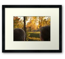 Love in View Framed Print