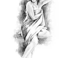 beautiful woman by groke