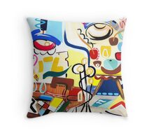 Abstract Interior #15 Throw Pillow