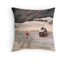 Freds Fish House Throw Pillow