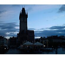Old Town Square in Prague, Czech Republic Photographic Print