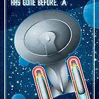 Star Trek - To Boldly Go by Carl Huber