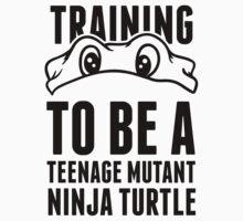 Training to be a Teenage Mutant Ninja Turtle by Six 3