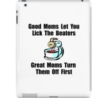 Mom Lick The Beaters iPad Case/Skin