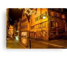 Tübingen at Christmas 5 Canvas Print