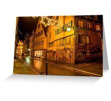 Tübingen at Christmas 5 Greeting Card