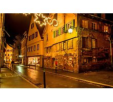 Tübingen at Christmas 5 Photographic Print