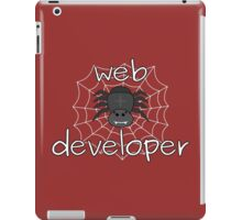 Eight-legged web developer iPad Case/Skin