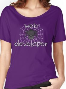 Eight-legged web developer Women's Relaxed Fit T-Shirt