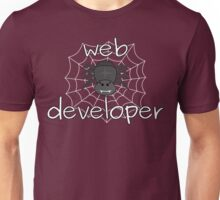 Eight-legged web developer Unisex T-Shirt