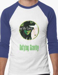 Defying Gravity  Men's Baseball ¾ T-Shirt