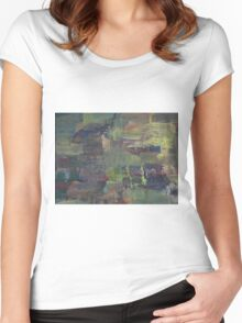 EXPLORE THIS(C2012) Women's Fitted Scoop T-Shirt