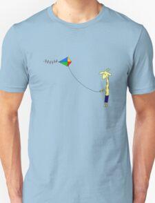 Giraffe flies a kite T-Shirt