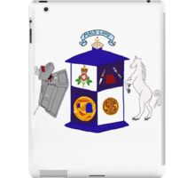 The Doctor's Coat Of Arms : Inspired by the 50th anniversary special iPad Case/Skin