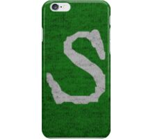 Weasley Sweater - S - Slytherin Colors iPhone Case/Skin
