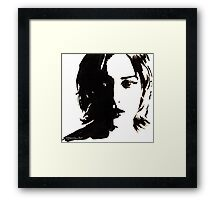 Kate Winslet Framed Print