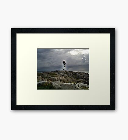 Hurricane Watch Framed Print