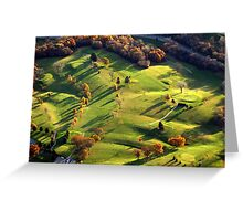 Back 9 Greeting Card