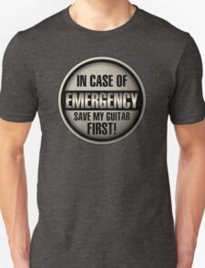 Emergency Unisex T-Shirt