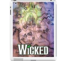 Wicked the musical OZ map iPad Case/Skin