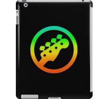 Bass  Guitar Colorful Symbol iPad Case/Skin