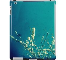 Blossom on blue iPad Case/Skin