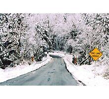 Winter in Rural Pennsylvania  Photographic Print