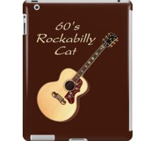 60's Rockabilly Cat  iPad Case/Skin