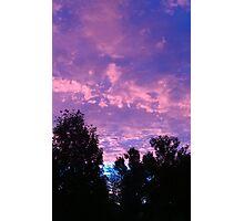 Gorgeous Sunrise in Thomasboro, IL Photographic Print