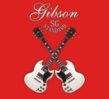Double Gibson sg white by mayala