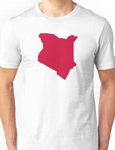Kenya map Unisex T-Shirt