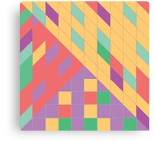 Geometric Slant Canvas Print