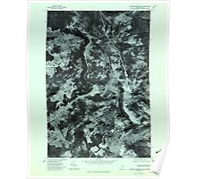Maine USGS Historical Map Riviere Monument 807099 1977 24000 Poster