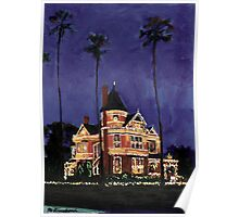 California Holiday, Christmas Picture Poster