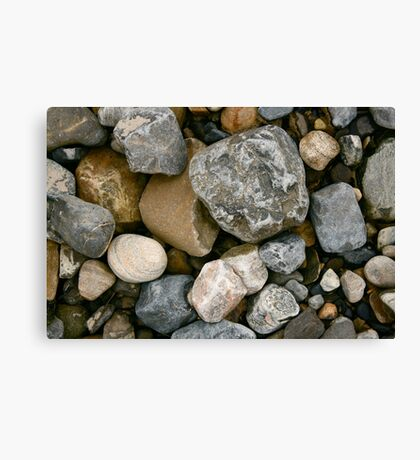 Rocks and Stones in Donegal Canvas Print